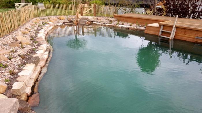 Übesicht Schwimmteich - Bergmann Galabau